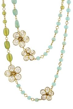Natures Floral Necklace