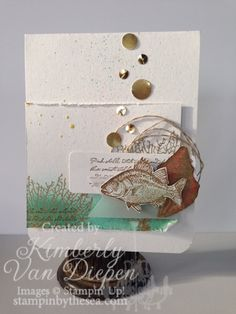 By The Tide stamp set, Kimberly Van Diepen, DIY www.stampinbythesea.com