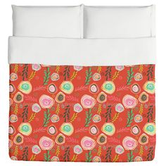 Uneekee Crazy For Roses Duvet