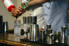 La préparation de cocktails est tout un art ...