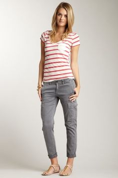 AG Slim Cargo Pant by Denim Obsession on @HauteLook