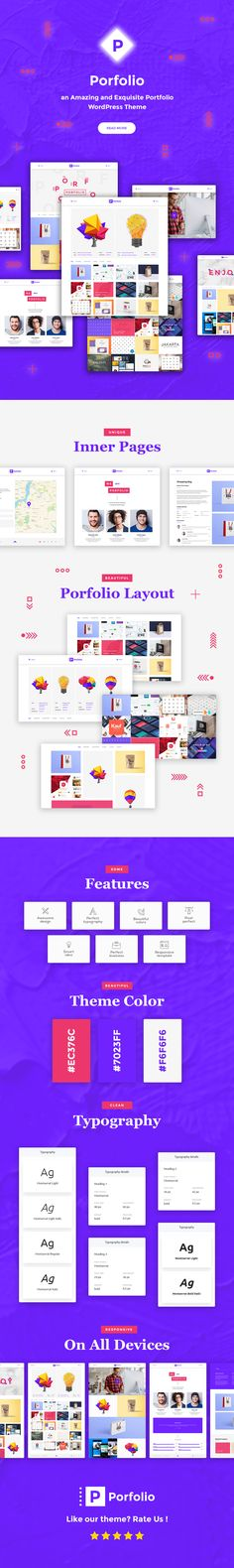 Buy Porfolio - Creative Agency & Personal Portfolio WordPress Theme by modeltheme on ThemeForest. Want to create and incredible Multi-Concept Portfolio WordPress website? Sick of testing and evaluating themes?