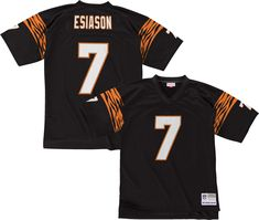 Mitchell   Ness Men s 1989 Home Game Jersey Cincinnati Boomer Esiason  7. Boomer  EsiasonCincinnati Bengals 02e3636ca