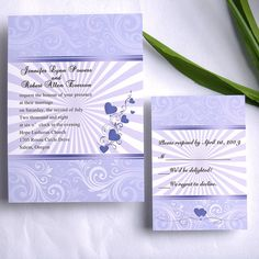 String of Hearts Wedding Invitations ING154 [ING154] - $0.00 : Invitation Store, Invitationstyles.com