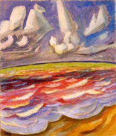 ERICH HECKEL Wolkenschatten (1918)