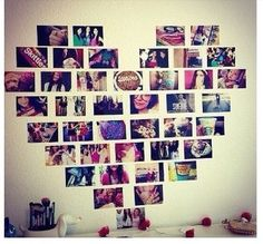 - Diy Decorao Teenage Girl Fotocollage Ideen, # Teenager # Collagen Y -