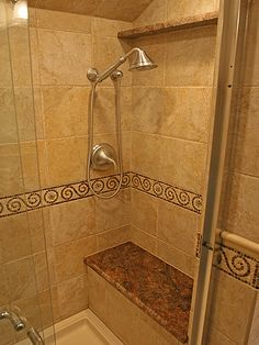 """Bathroom Shower Tile Ideas With creative bathroom shower tile ideas, one can This listing is for one sample of tile (6"""" x 3"""") Description from bathroomse.com. I searched for this on bing.com/images"""