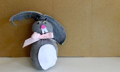 This no-sew sock bunny is a simple Easter craft activity for kids and you don't even need to sew a stitch.