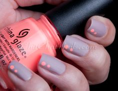 ChitChatNails » Blog Archive » Let's Get Dirty with simple dots