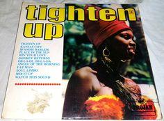 ORIGINAL UK LP 1969 - TIGHTEN UP VOL 1 - REGGAE RARE VARIOUS ARTISTS LP-TROJAN Angel Of The Morning, Skinhead Reggae, Sounds Good To Me, Vintage Records, Fat Man, Various Artists, Vinyls, Album Covers, My Music