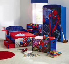 15 Spiderman Bedroom Ideas