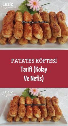 Patates Köftesi Tarifi (Kolay Ve Nefis)