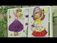 Vida com Arte | Pintura em Pano de Copa Boneca Flora por Beth Matteelli - 24 de Setembro de 2014 - YouTube