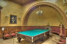 Billiard Room of Yusupov Palace