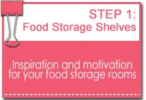 Food Storage Shelves Pinterest Board - Inspiration and motivation for your food storage rooms