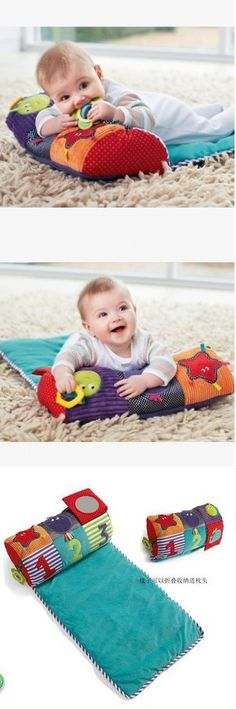 New 2014 Multifunctional Baby Infant Toys Plush Cute Rattles Learning & Education Baby Pillows Baby Blankets Gifts