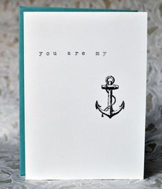 you are my...