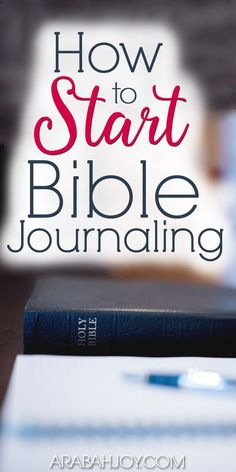 Have you wanted to start Bible journaling but aren't sure where to start? Here you'll find simple instructions for how to start Bible journaling... find out how this creative outlet can deepen your understanding of Scripture!