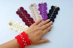 FREE SHIPPING Crochet bracelet friendship bracelet. by NMNHANDMADE, $12.77