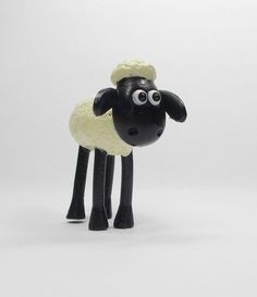 Wallace & Gromit - Shaun The Sheep - Mini Toy Figure - Aardman - Cake Topper A