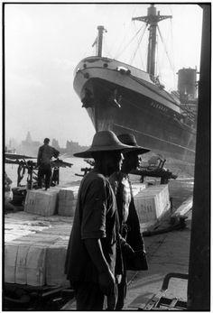 Henri Cartier-Bresson - Shanghai. 1958,