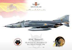 F-4 Phamton Ala de Caza 12, Escuadrón 123 Base Aérea de Torrejón 1996