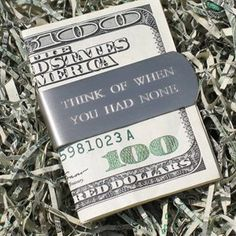 stuff, accessori, gift ideas, random, white christmas, inspir, men clothes, quot, money clip