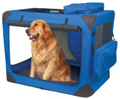 Soft Dog Crate Attractive And Funtional • For at home and on the go