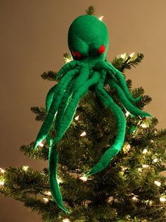 All Cthulu wants for Christmas is for you to suffer unutterable pain in stygian darkness.
