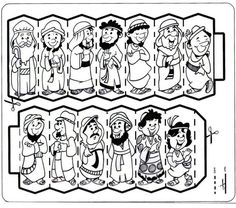 helpful timeline from abraham and sarah to the 12 tribes