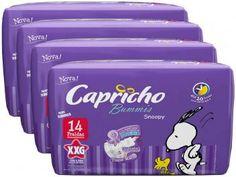 Fralda Capricho Bummis Snoopy XXG - 4 Pacotes com 14 Unidades