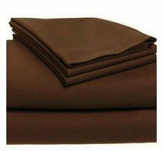"""500 Thread Count Egyptian Cotton Solid Chocolate Full Bed Skirt by Scala. $34.99. 1 Bed Skirt. Set Includes: 1 Full/Queen Size Bed Skirt 60"""" X 80"""" with 15"""" drop, Tailored style, split corners, Material: 100% Egyptian cotton,Sateen finish Bed Skirt, Single-ply, Care instructions: Machine washable."""