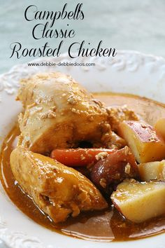 Cambpell's roasted chicken sauces