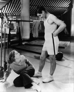 Joan Crawford y Clark Gable en 'Dancing Lady', 1933 Old Hollywood Movies, Vintage Hollywood, Classic Hollywood, Hollywood Icons, Rhett Butler, Clark Gable, Divas, Bogart And Bacall, Robert Duvall