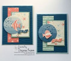 Seaside Shore, Stampin Up! made by Deseree Krumm: