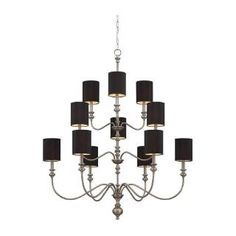 Check out the Jeremiah Lighting 28512 Willow Park 12 Light Chandelier priced at $480.00 at Homeclick.com.