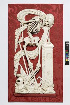 Death as a Skeleton (Relief), 1850 - 1870 | V&A Search the Collections