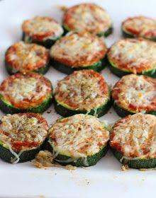 carmen's kitch: Healthy Zucchini Pizza Bites