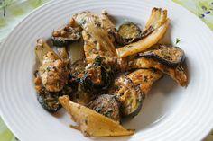 Elmira paleo konyhája: Fűszeres csirkemell sült cukkinivel, padlizsánnal ...