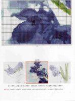 Gallery.ru / Фото #189 - TRIPTYCH - Ninicol Cross Stitch, Movie Posters, Blue, Dots, Flowers, Manualidades, Punto De Cruz, Seed Stitch, Film Poster