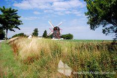 Windmühle Kure Mølle zwischen Østermarie und Svaneke auf der Insel Bornholm. #windmuehle #muehle #insel #bornholm #daenemark