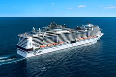 Discover the Mediterranean cruise destinations with MSC Bellissima. Take advantage of great cruise deals and be one of the first to sail on MSC Bellissima. Best Cruise, Cruise Port, Cruise Vacation, Vacations, All Inclusive Cruises, Msc Cruises, World Cruise, Cruise Europe, Biggest Cruise Ship