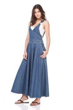 Resultado de imagen para vestidos de jeans levis