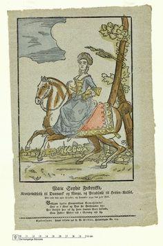 Det Kongelige Biblioteks billedsamling | Marie Sophie Frederikke, Kronprindsesse til Danmark og Norge (1767-1852)