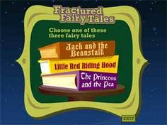 The Fractured Fairy Tale tool encourages students to create their own fractured fairy tales. - Pinned by @PediaStaff – Please visit http://ht.ly/63sNt for all (hundreds of) our pediatric therapy pins