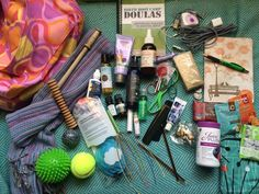 Laurie McGowan Calgary Doula - What's in my Doula Bag?