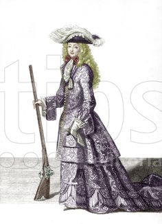 Reinette: Ladies Hunting and Riding Habits from 1660-1700