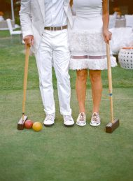 croquet party attire | Croquet Party from Aaron Delesie + Lisa Vorce + Mindy Rice | Style Me ... Summer Whites