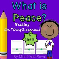 Bring character education into writer's workshop! Peace is so important. This set includes 28 different sheets for children to reflect on peacemaking as… School Resources, Teaching Resources, Teaching Ideas, What Is Peace, International Day Of Peace, Real Teacher, Learning To Write, Primary Education, Writer Workshop