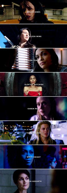 Ladies of Marvel who are so far confirmed to appear in The Defenders